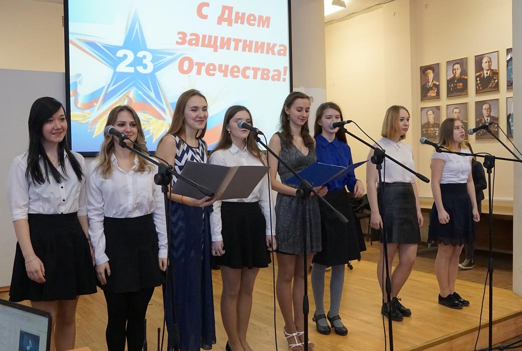 Концерт, посвященный 23 февраля - Дню защитника Отечества!