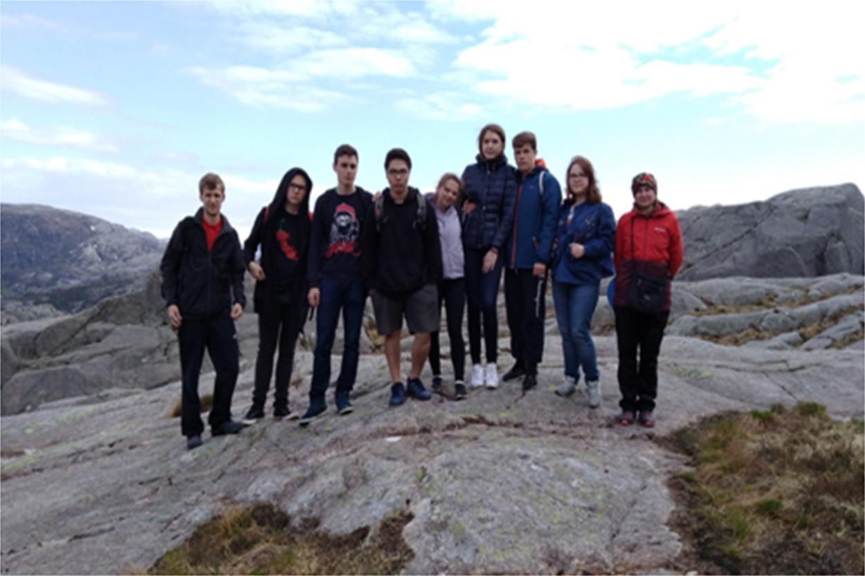 Поездка в Норвегию по программе «Обмен студентов»